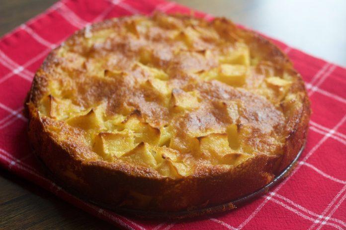 receta tarta de manzana